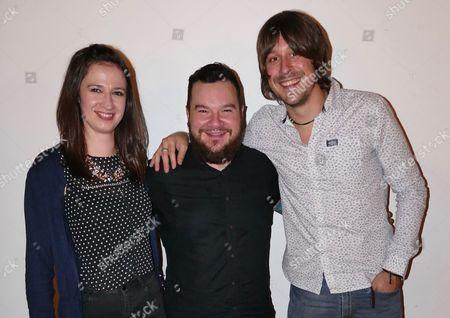 Jenn Butterworth, Ross Ainslie and Ali Hutton