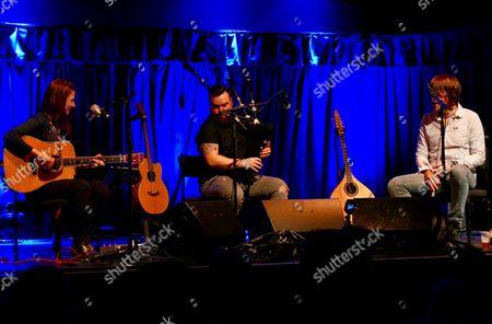 Jenn Butterworth, Ali Hutton and Ross Ainslie