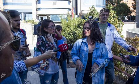 Editorial image of Activist accepts a year in prison at Provincial Hearing, Madrid, Spain - 10 Oct 2017
