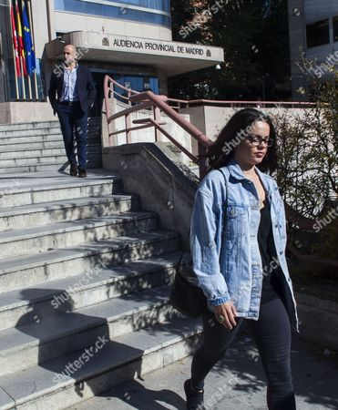 Editorial photo of Activist accepts a year in prison at Provincial Hearing, Madrid, Spain - 10 Oct 2017