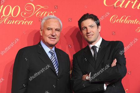 President and CEO of Cartier International Bernard Fornas and President and CEO of Cartier North America Frederic de Narp
