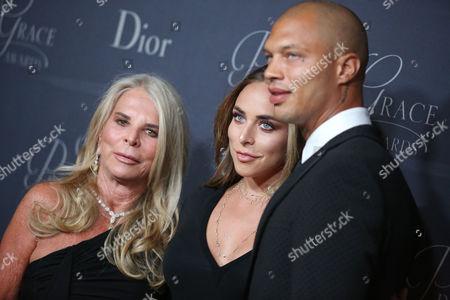 Jeremy Meeks, Chloe Green and Lady Lady Tina Green