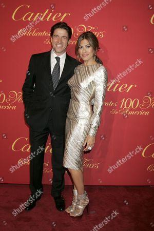 Frederic de Narp and Eva Mendes