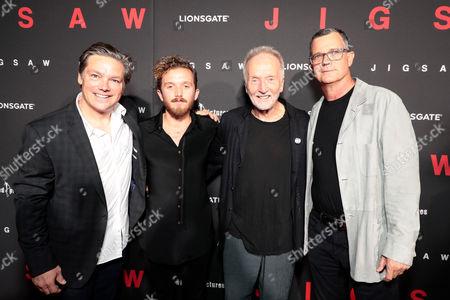Oren Koules, Producer, Cooper Bell, Tobin Bell, Mark Burg, Producer,