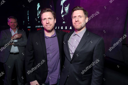 Stock Photo of Peter Spierig, Director, Michael Spierig, Director attend after party