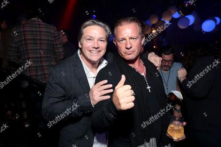 Oren Koules, Producer, Costas Mandylor attend after party