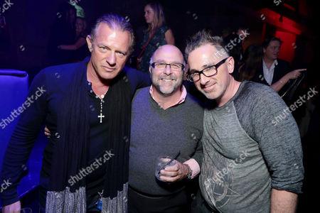 Costas Mandylor, Daniel J. Heffner, Executive Producer, Darren Lynn Bousman attend after party