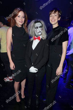 Stock Image of Hannah Emily Anderson, Brittany Allen attend after party