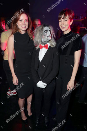 Stock Picture of Hannah Emily Anderson, Brittany Allen attend after party
