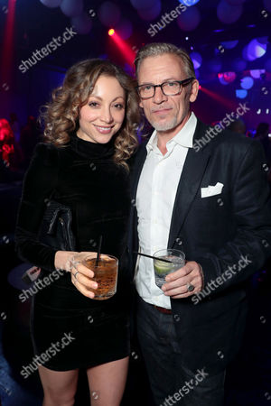 Guest, Callum Keith Rennie attend after party
