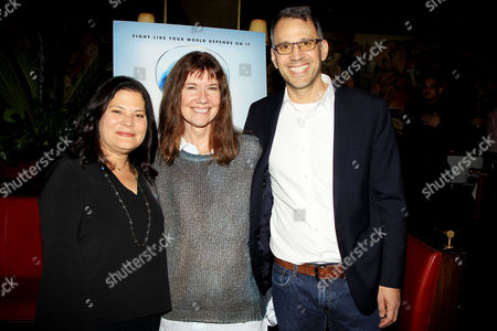 Stock Photo of Bonni Cohen, Diane Weyermann, Jon Shenk