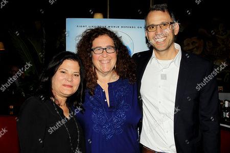 Stock Image of Bonni Cohen, Julie Goldman, Jon Shenk