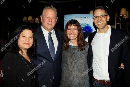 Bonni Cohen, Al Gore, Diane Weyermann, Jon Shenk