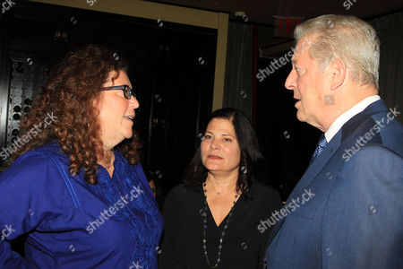 """Editorial photo of NY Special Screening of """"An Inconvenient Sequel: Truth to Power"""" hosted by Julie Goldman and Roger Ross Williams, New York, USA - 25 Oct 2017"""