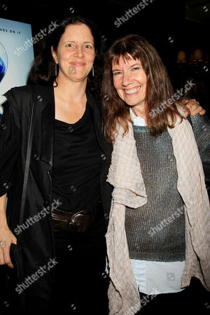 Laura Poitras and Diane Weyermann