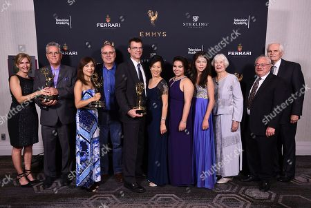 Editorial picture of 2017 Engineering Emmy Awards, Hollywood, USA - 25 Oct 2017