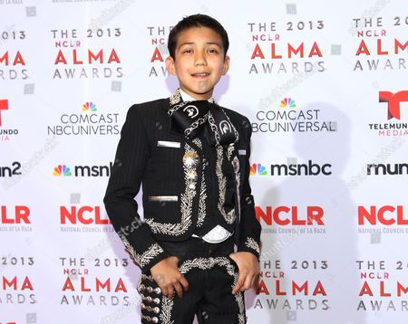 Sebastien de la Cruz poses backstage at the NCLR ALMA Awards at the Pasadena Civic Auditorium in Pasadena, Calif