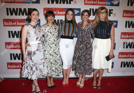 Zoe Lister Jones, Rashida Jones, Sophia Bush, Cindi Leive, Connie Britton