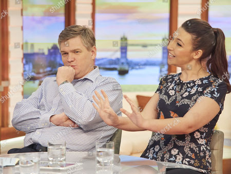 Ray Mears and Emily Leary