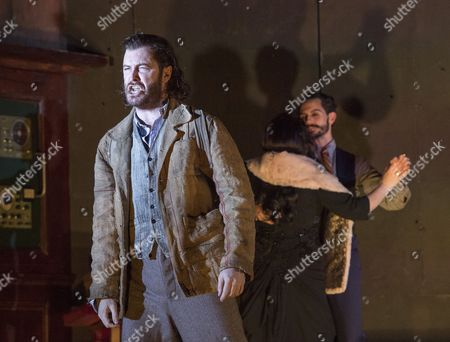Tim Mead as Bertaido, Rebecca Evans as Rodelinda, Juan Sancho as Grimoaldo,