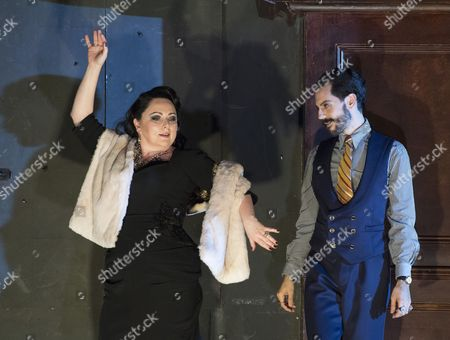 Editorial picture of 'Rodelinda' Opera performed by English National Opera at the London Coliseum, UK, 25 Oct 2017