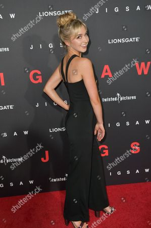 Editorial image of 'Jigsaw' film premiere, Los Angeles, USA - 25 Oct 2017