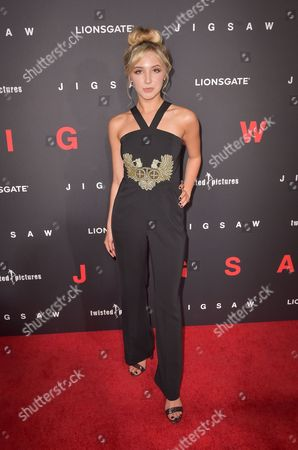 Editorial photo of 'Jigsaw' film premiere, Los Angeles, USA - 25 Oct 2017
