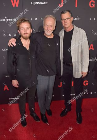 Stock Picture of Justin Bell, Tobin Bell, Mark Burg