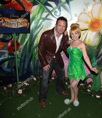 Stock Photo of Jamie Rickers attends VIP screening of the new Disney film Tinker Bell and the Pirate Fairy, at Cineworld Haymarket in central London