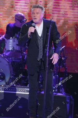 """Stock Picture of Artist Don Henley performs at """"All In For The Gambler: Kenny Rogers' Farewell Concert Celebration"""" at Bridgestone Arena on in Nashville, Tenn"""