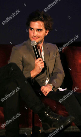 """Landon Liboiron at a Special Fan Screening of Netflix's """"Hemlock Grove"""" held at The Arclight Theater, in Los Angeles"""