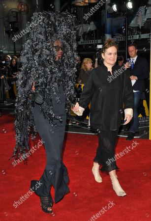 Grace Jones and Sophie Fiennes