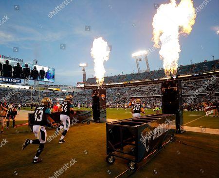Editorial photo of Buccaneers Jaguars Football, Jacksonville, USA - 17 Aug 2017