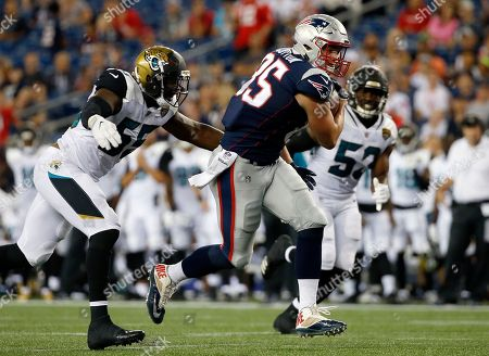 Editorial photo of Jaguars Patriots Football, Foxborough, USA - 10 Aug 2017