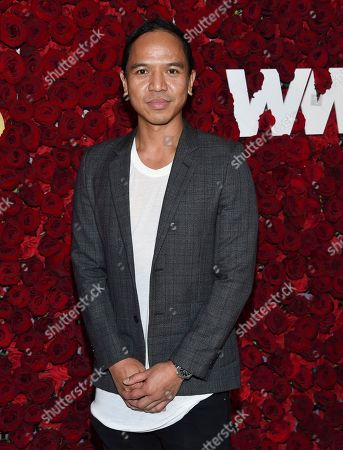 Revolve Clothing co-CEO Michael Mente attends the 2nd Annual WWD Honors hosted by Women's Wear Daily at The Pierre Hotel, in New York