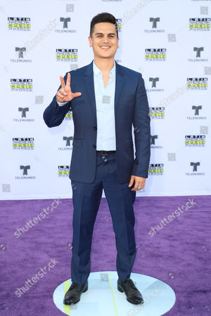 Editorial photo of Latin American Music Awards, Arrivals, Los Angeles, USA - Oct 26 2017
