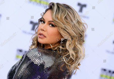 Editorial picture of Latin American Music Awards, Arrivals, Los Angeles, USA - Oct 26 2017