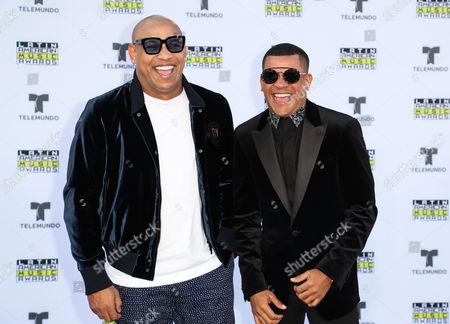 Alexander Delgado and Randy Malcom Martinez of Gente De Zona