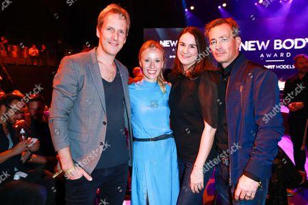 Jan Hahn mit partner Constanze and Jan Sosniok mit partner Nadine Moellers