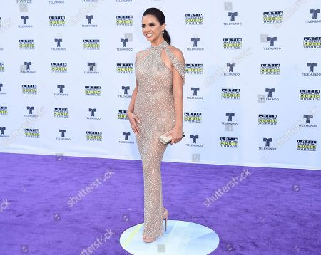 Editorial image of 2017 Latin American Music Awards - Arrivals, Los Angeles, USA - 26 Oct 2017