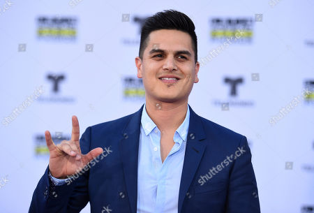 Stock Photo of Regulo Caro arrives at the Latin American Music Awards at the Dolby Theatre, in Los Angeles