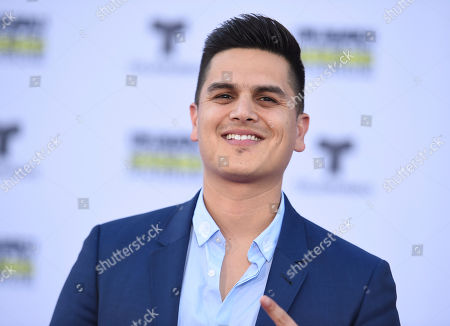 Regulo Caro arrives at the Latin American Music Awards at the Dolby Theatre, in Los Angeles