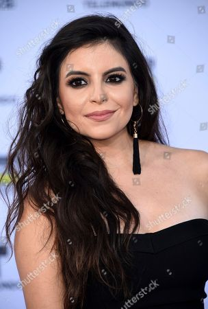 Stock Picture of Sandy Valles arrives at the Latin American Music Awards at the Dolby Theatre, in Los Angeles