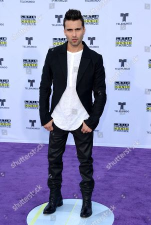 Stock Picture of Christian Daniel arrives at the Latin American Music Awards at the Dolby Theatre, in Los Angeles
