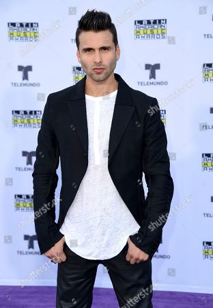 Christian Daniel arrives at the Latin American Music Awards at the Dolby Theatre, in Los Angeles