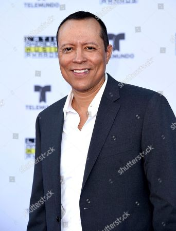 Yancey Arias arrives at the Latin American Music Awards at the Dolby Theatre, in Los Angeles