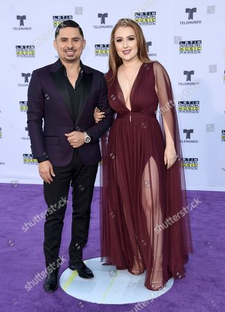 Editorial photo of 2017 Latin American Music Awards - Arrivals, Los Angeles, USA - 26 Oct 2017