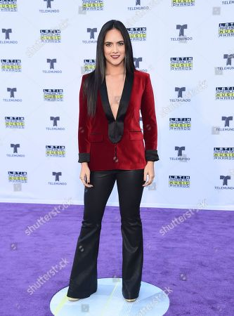 Ana Lorena Sanchez arrives at the Latin American Music Awards at the Dolby Theatre, in Los Angeles