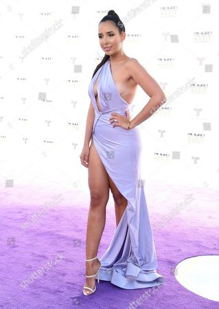 Editorial picture of 2017 Latin American Music Awards - Arrivals, Los Angeles, USA - 26 Oct 2017
