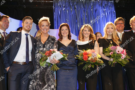 Julien Fuchsberger, Inka Bause, Jennifer Fuchsberger, Alexa Feser, Luise Baehr